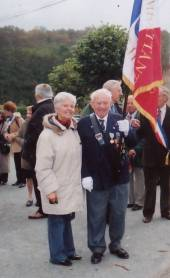 Louis Bricaud et Marie-Chantal en 2003